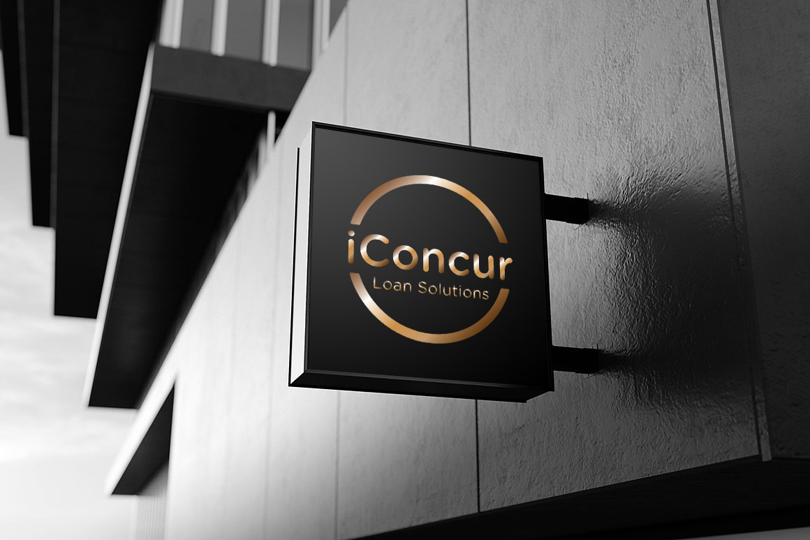 iConcur Loan Solutions | Sydney mortgage company logo design agency