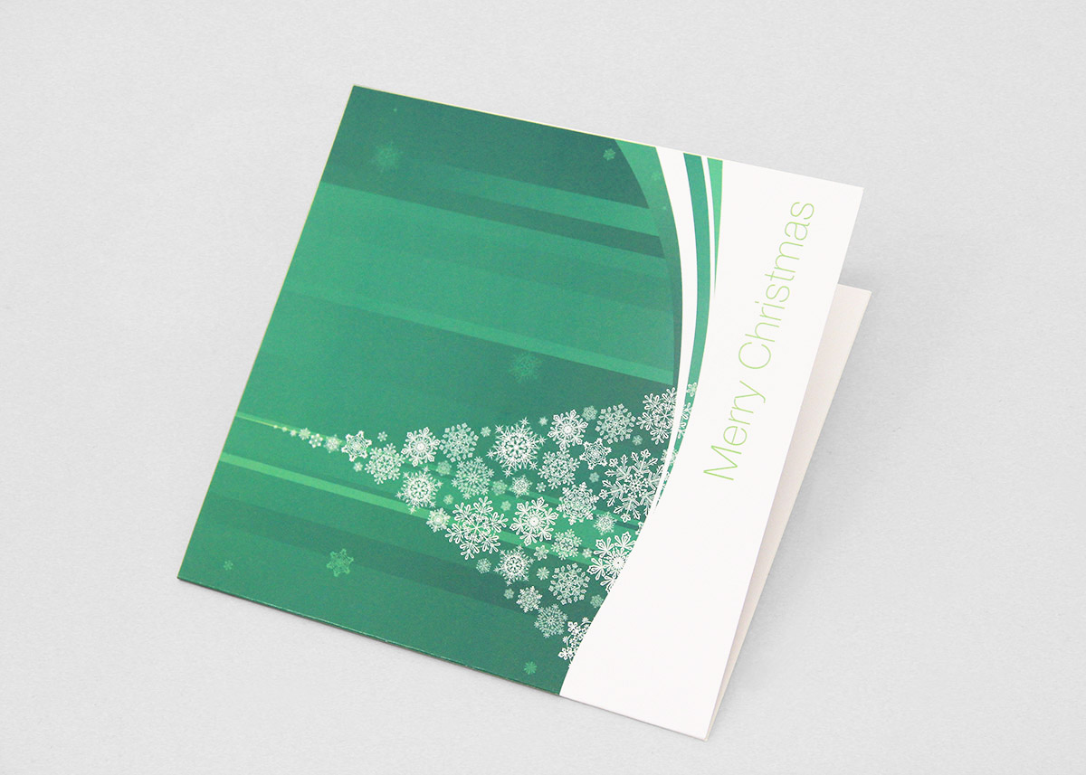 iFinancial Christmas card by FOX DESIGN